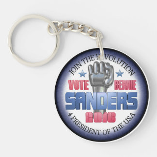Join the Revolution with Bernie Sanders Keychain
