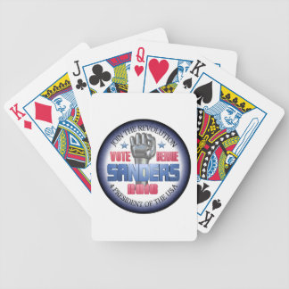 Join the Revolution with Bernie Sanders Bicycle Playing Cards