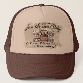 Join the Tea Party Tea Shirts and Gifts Trucker Hat