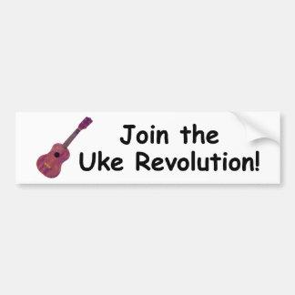 Join the Uke Revolution Bumper Stickers