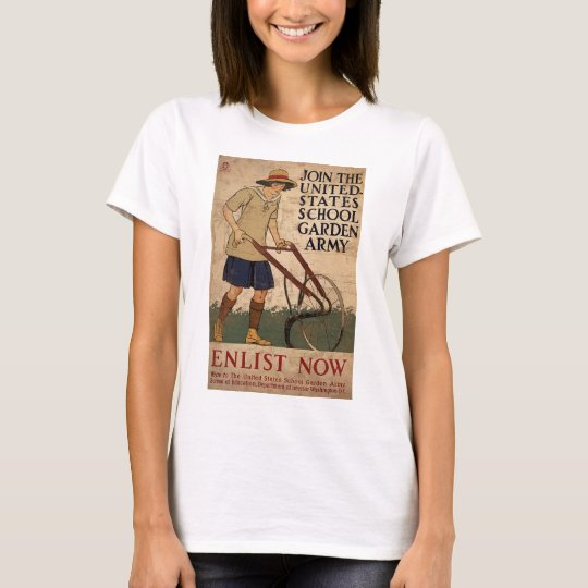 Join The United States School Garden Army T-Shirt
