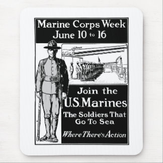 Join The US Marines Mouse Pad