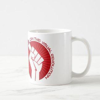 Join the visual revolution coffee mug
