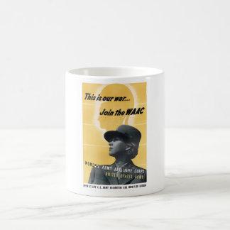 Join The WAAC -- WW2 Mug