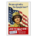 Join The WAC Greeting Cards