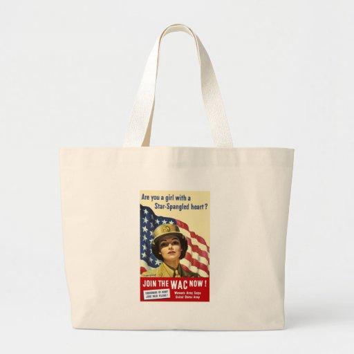 Join The WAC Jumbo Tote Bag