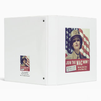 JOIN The WAC NOW 3 Ring Binder