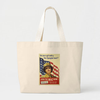 JOIN THE WAC NOW! LARGE TOTE BAG