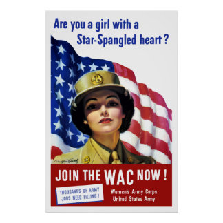 Join The WAC Now! Posters