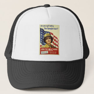 JOIN THE WAC NOW! TRUCKER HAT