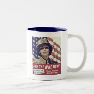 JOIN The WAC NOW Two-Tone Coffee Mug