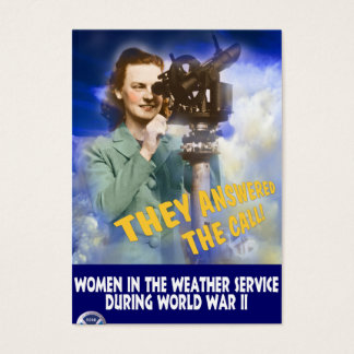 Join the Weather Service Business Card