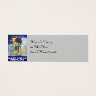 Join the Weather Service Mini Business Card