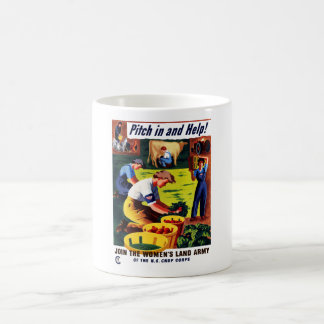 Join The Women's Land Army -- WWII Mug