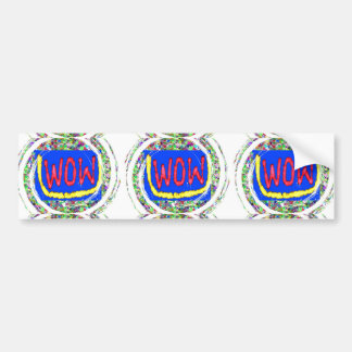 Join the WOW factor party:  Gift one to self Bumper Sticker