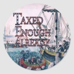 Join theTEA Party Supplies Classic Round Sticker