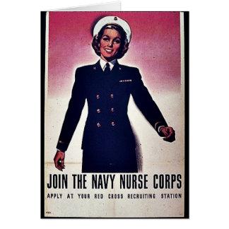 Join Tht Navy Nurse Corps Card