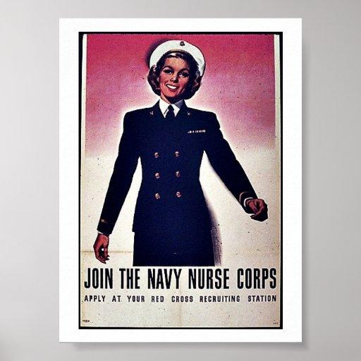 Join Tht Navy Nurse Corps Poster