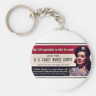 Join Tht U.S. Cadet Nurse Corps Keychains