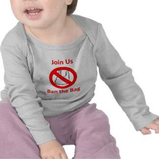 Join Us, Ban the bag around the World Shirts