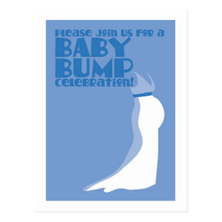 Join us for a Baby Bump Celebration Post Card