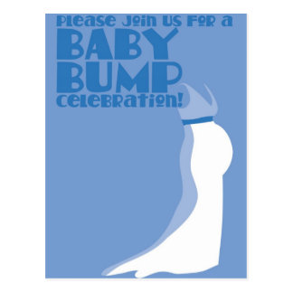 Join us for a Baby Bump Celebration Postcard