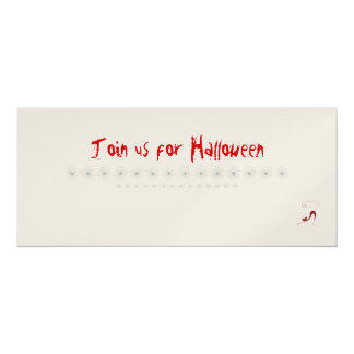 Join us for Halloween Card