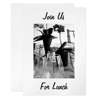 JOIN US FOR LUNCH - INVITATION (OR ANY EVENT)