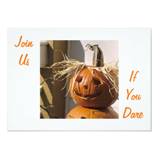 JOIN US IF YOU DARE-HALLOWEEN PARTY CARD
