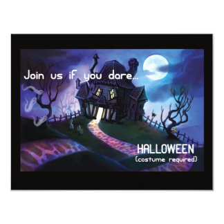 Join Us If You Dare Halloween Party Invitation