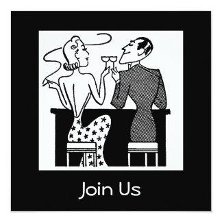 """Join Us Invitation 5.25"""" Square Invitation Card"""