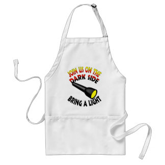 Join Us On The Dark Side Aprons