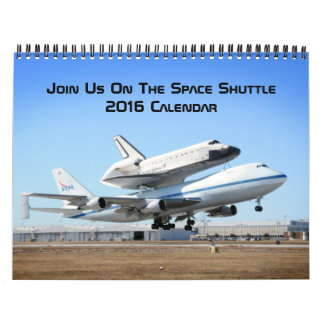 Join Us On The Space Shuttle Calendar