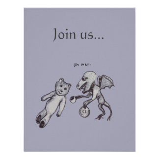 Join Us Party event Invitation