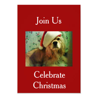 JOIN US TO CELEBRATE CHRISTMAS INVITATION
