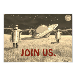 JOIN US UFO FLYING SAUCER by Jetpackcorps Card
