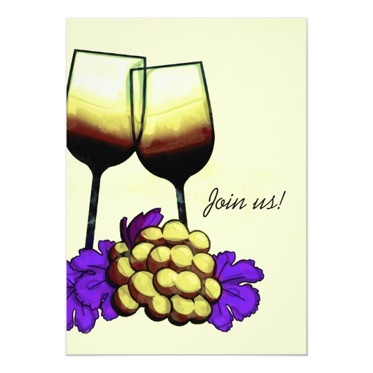 Join us! Wine Tasting Party Invitation