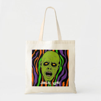 Join Us!  Zombie Tote Canvas Bag