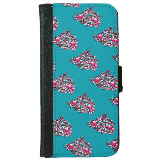 Join - wallet phone case colorful bubbles pattern
