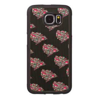 Join-wood phone case. Colorful bubbles Wood Phone Case