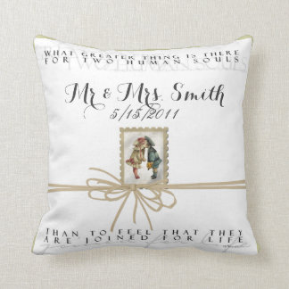 Joined For Life Personalized Wedding Pillow