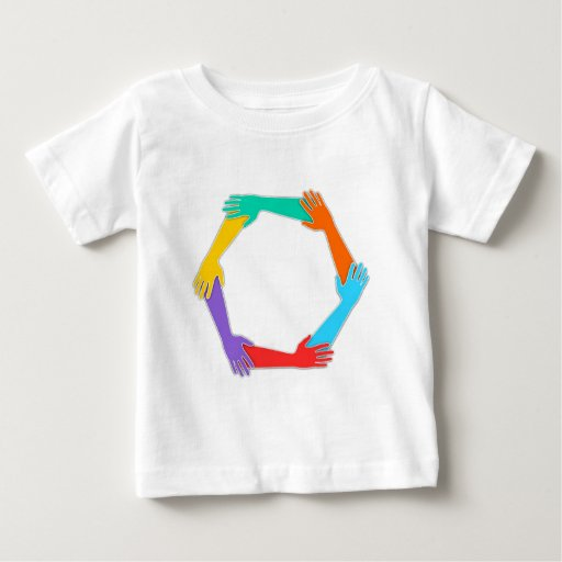 Joined Hands Baby T-Shirt
