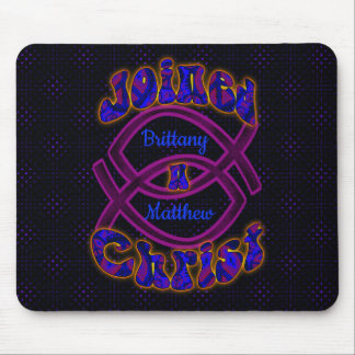 Joined in Christ Mouse Pad
