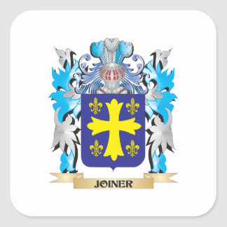 Joiner Coat of Arms - Family Crest Square Sticker