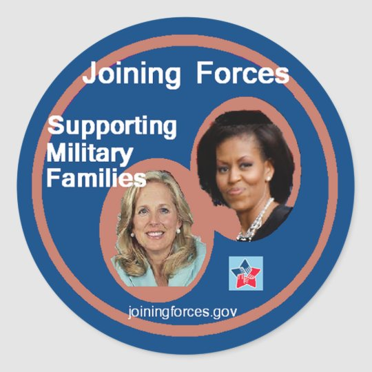 Joining Forces Sticker