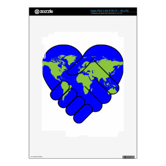 Joining hands iPad 3 decals