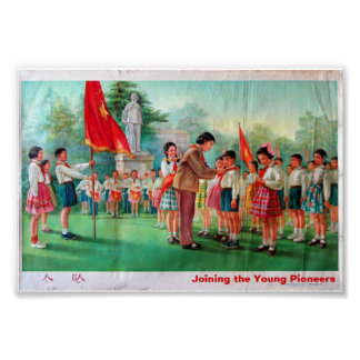 Joining the Young Pioneers Poster