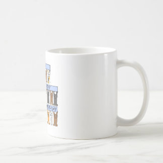 Joint Birthday, Have a wonderful Day Classic White Coffee Mug