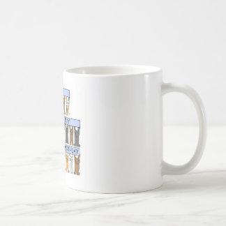 Joint Birthday, Have a wonderful Day Basic White Mug