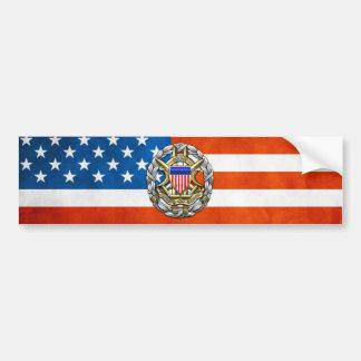 Joint Chiefs of Staff Car Bumper Sticker